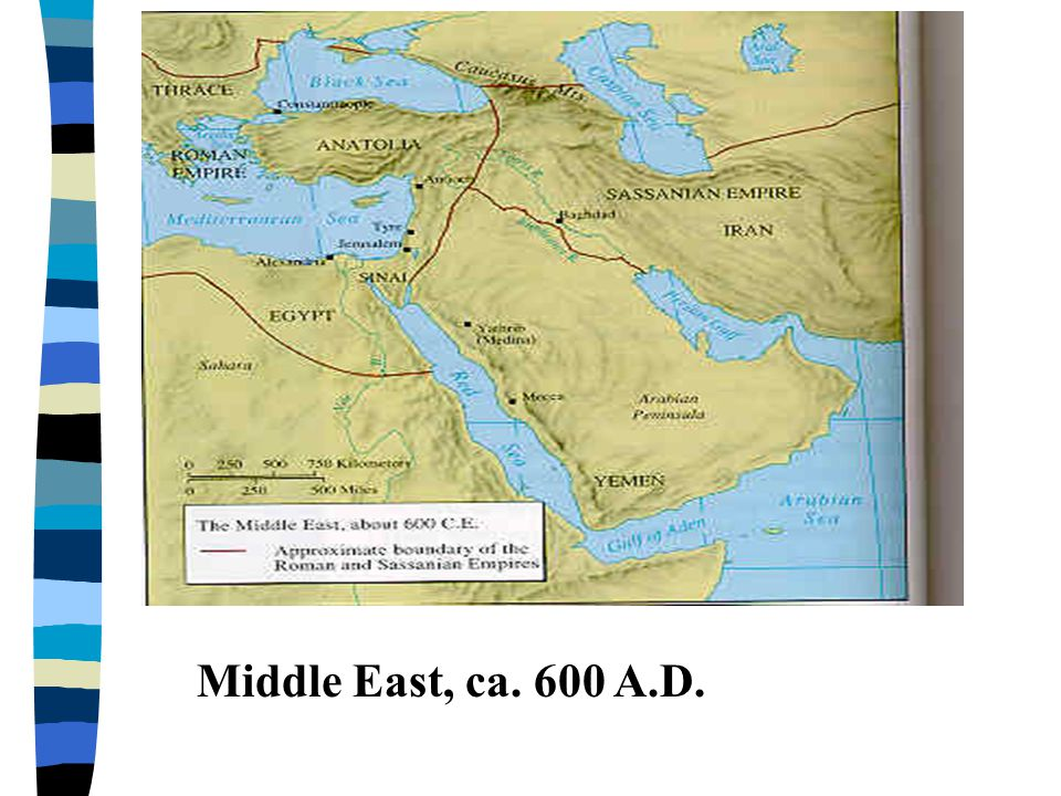 Islam n Bedouin Arab named Mohammed n born ca.570 A.D.