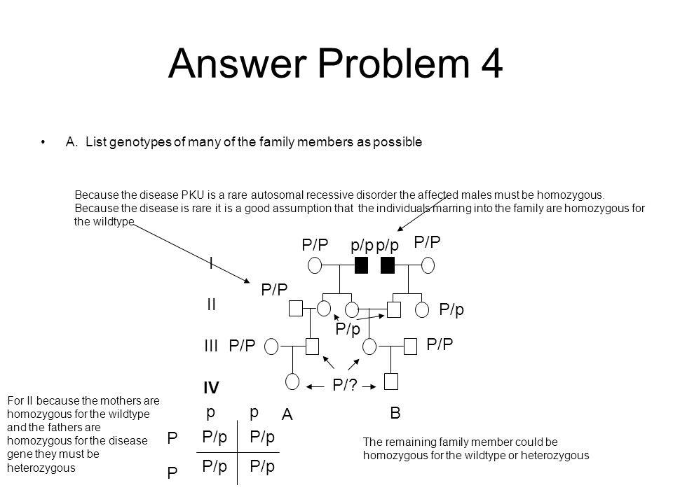 Answer Problem 4 A.