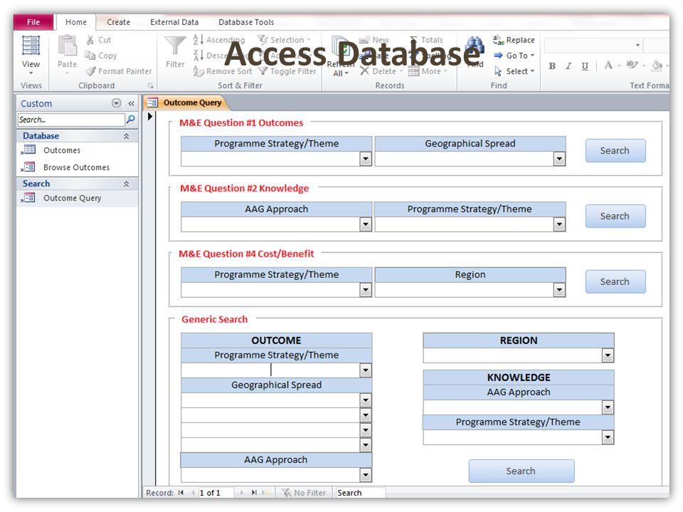 Access database Access Database