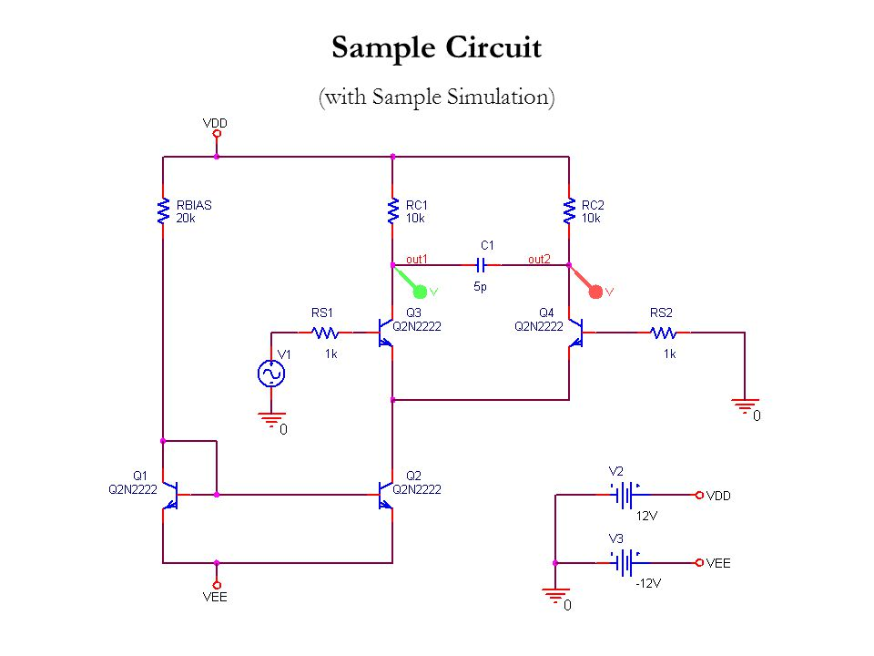 Sample Circuit (with Sample Simulation)