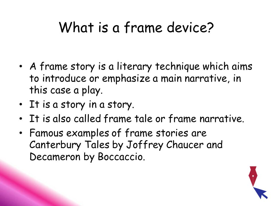 Frame Narrative Examples - Page 3 - Frame Design & Reviews ✓