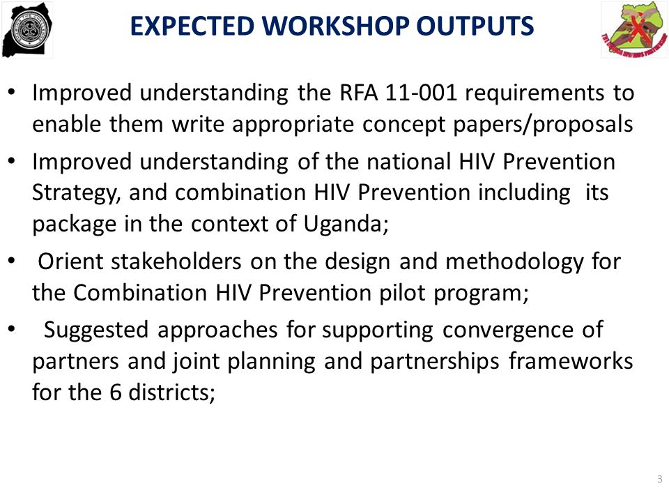  UGANDA NATIONAL HIV PREVENTION STRATEGY..Expanding and doing HIV prevention better ….