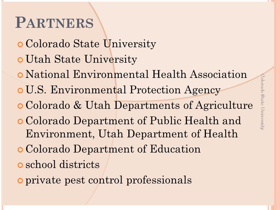Utah State University National Environmental Health Association U.S.