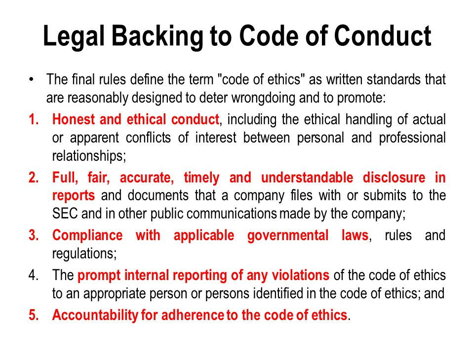 Clause 2 Misconduct Accepting any remuneration/ commission/ gratification from counsels/ customers of the company/ firm