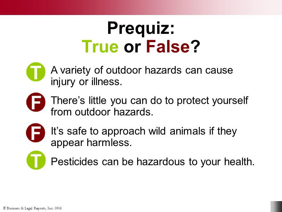 © Business & Legal Reports, Inc. 0906 Poisonous Plants