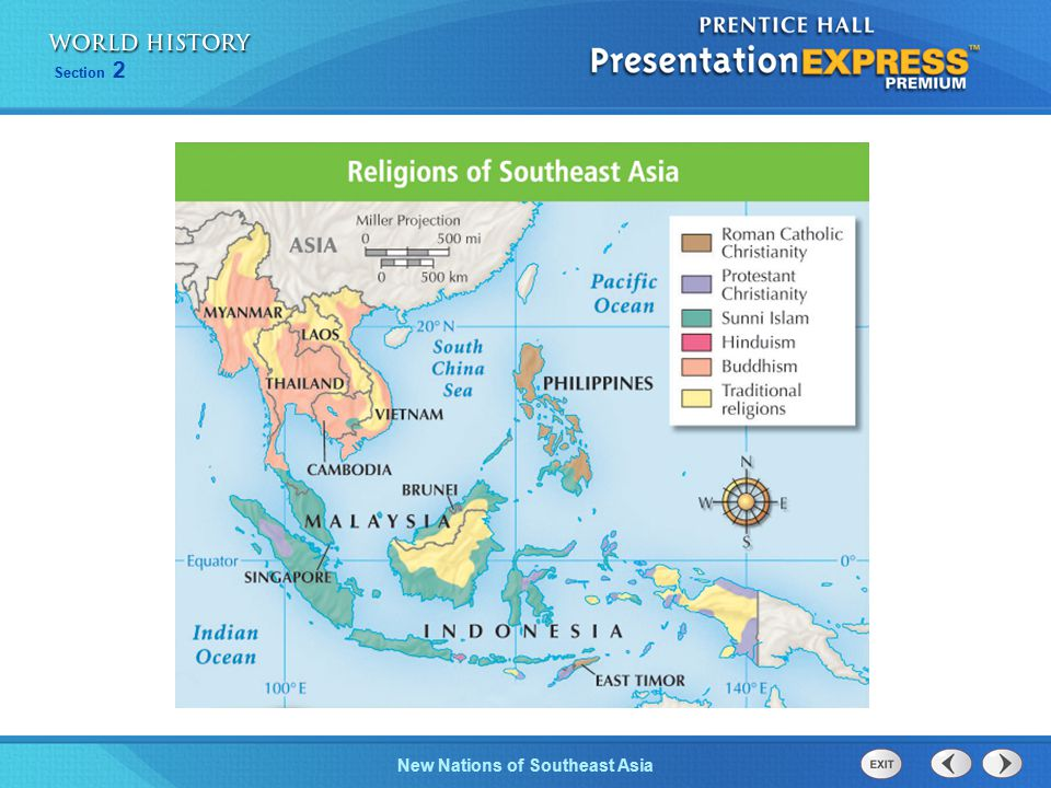 New Nations of Southeast Asia Section 2