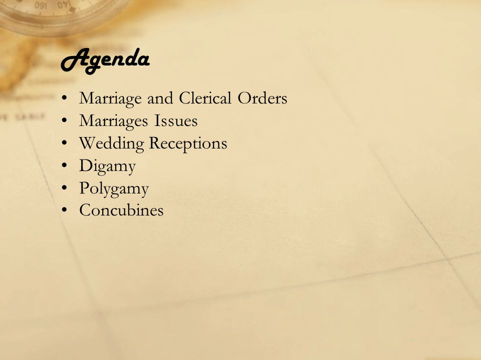 Marriage and Clerical Orders Constitution of the Holy Apostles–Canons 17, 18, 19 17.