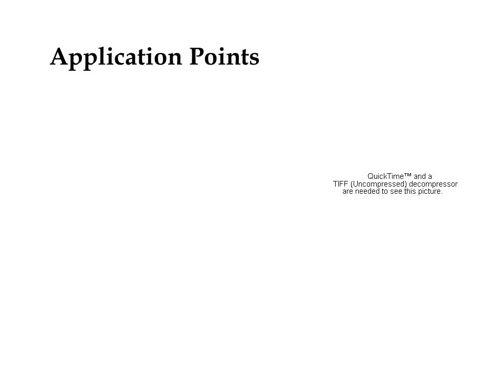 Application Points