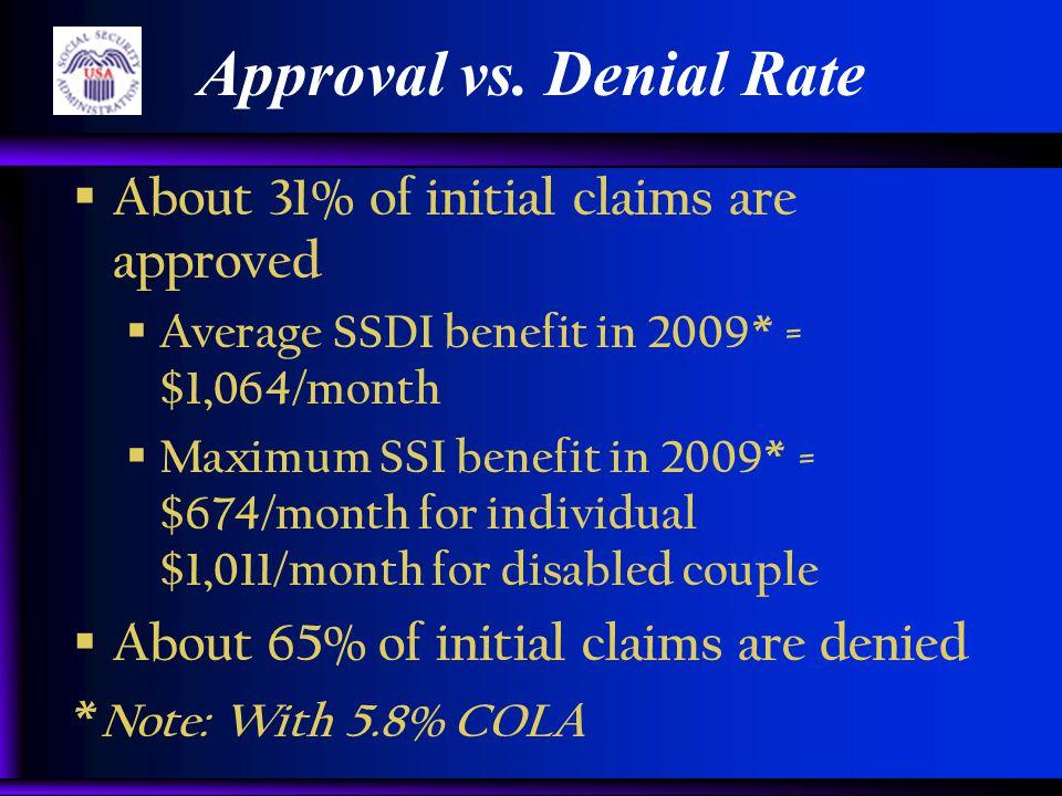 Approval vs.