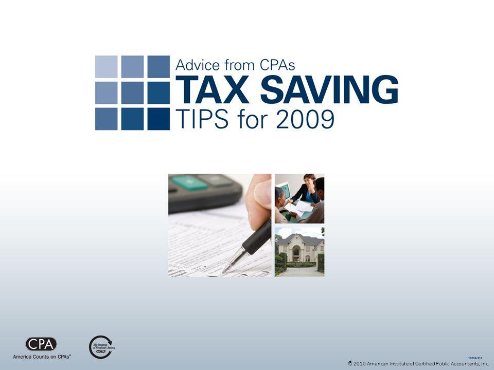© 2010 American Institute of Certified Public Accountants, Inc.