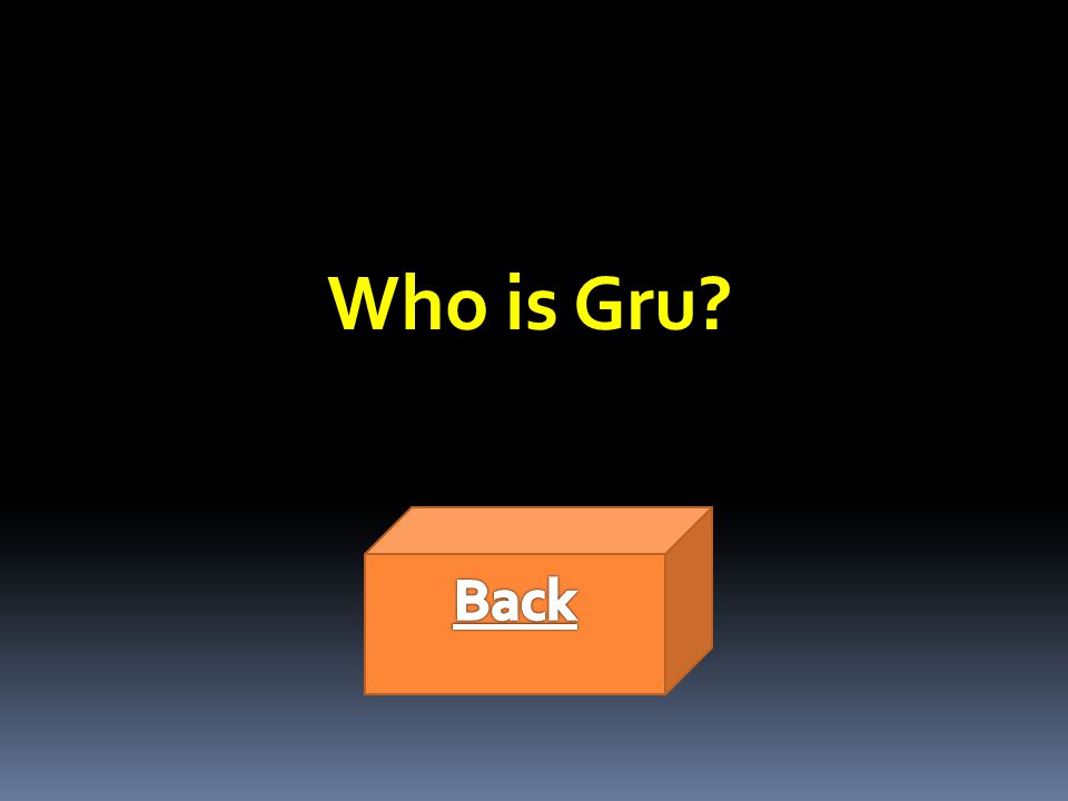 Who is Gru