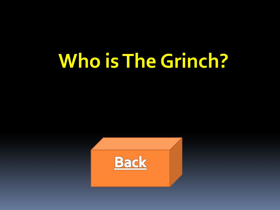 Who is The Grinch