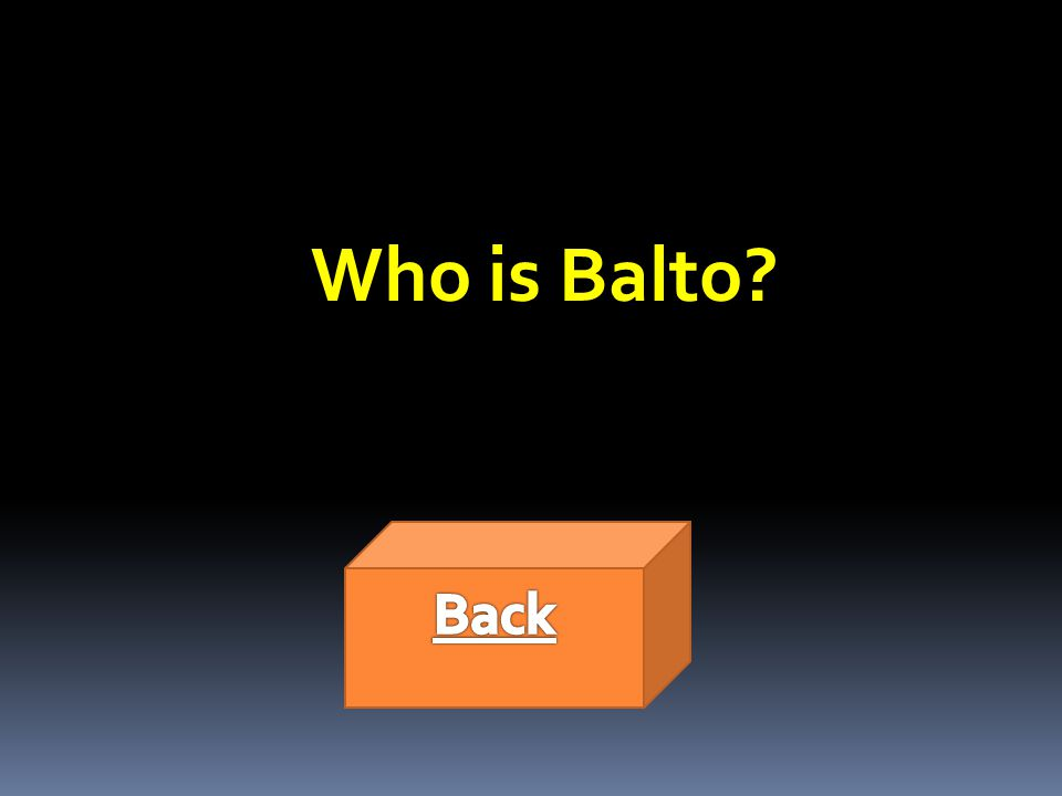 Who is Balto