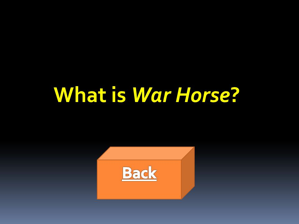 What is War Horse