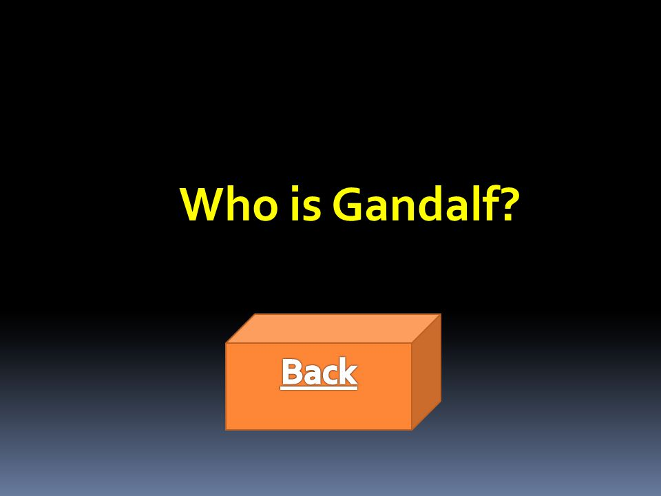 Who is Gandalf