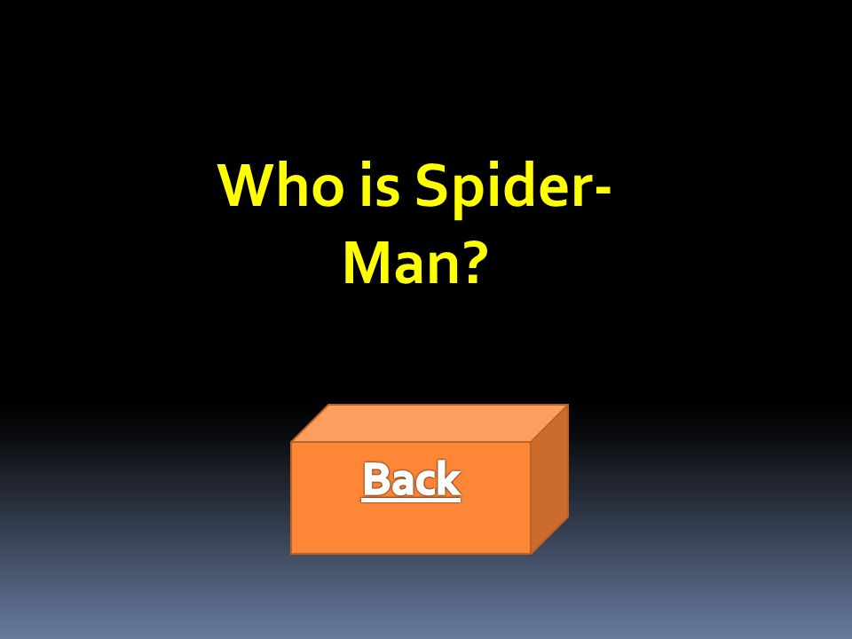 Who is Spider- Man
