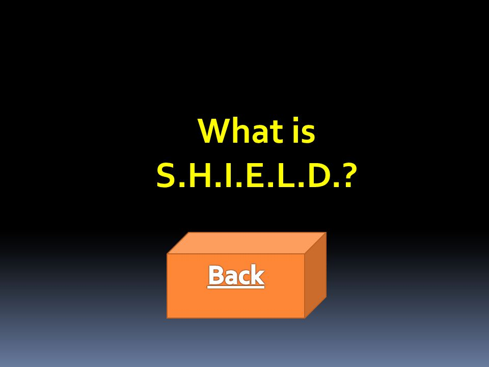 What is S.H.I.E.L.D.