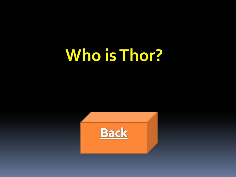 Who is Thor