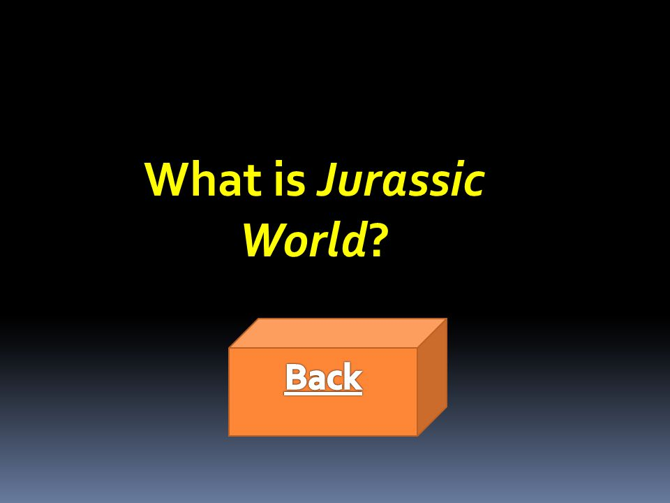 What is Jurassic World