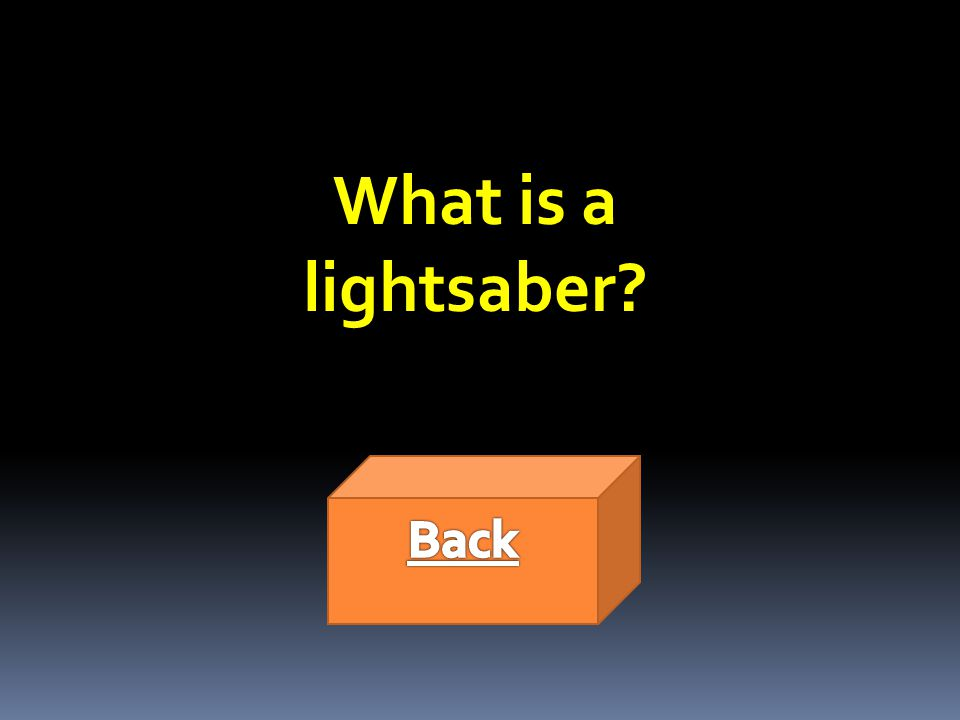 What is a lightsaber