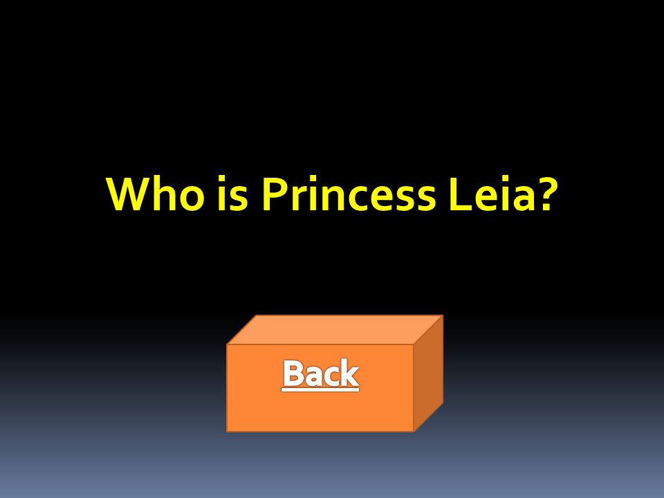 Who is Princess Leia