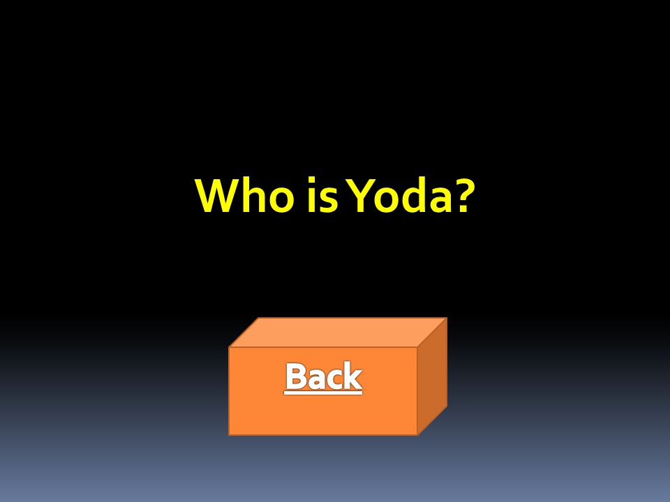 Who is Yoda