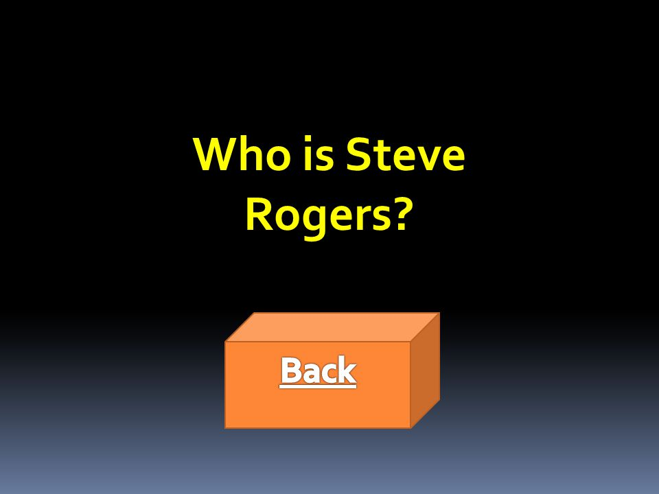 Who is Steve Rogers