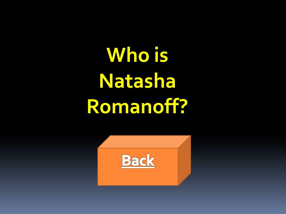 Who is Natasha Romanoff