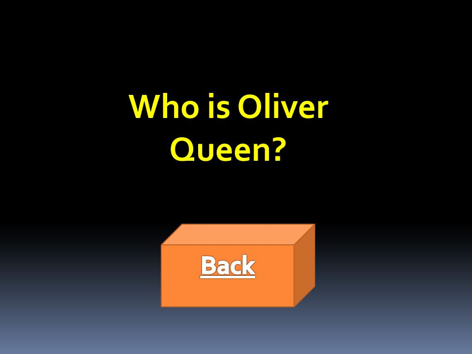 Who is Oliver Queen