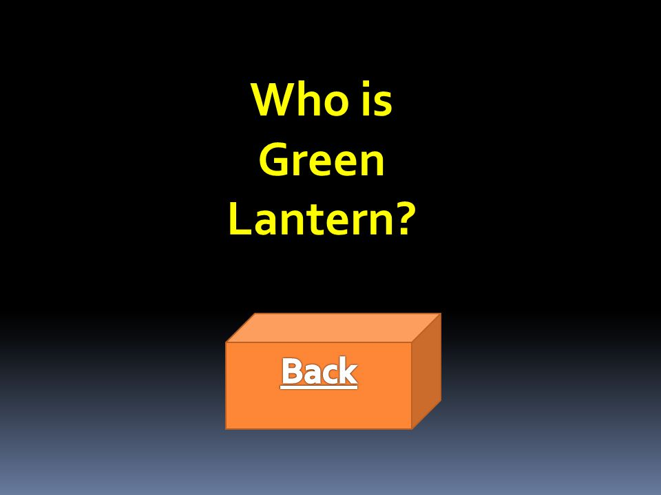 Who is Green Lantern