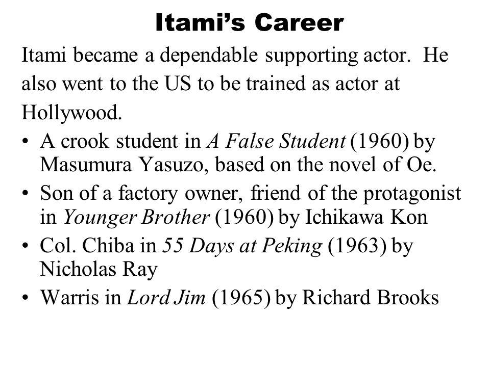 Actor / comedian: Hayashi Kaizo (1957 - ) Takenaka Naoto (1956 - ) Bando Tamasaburo (1950 - ) Kitano Takeshi (1947 - )