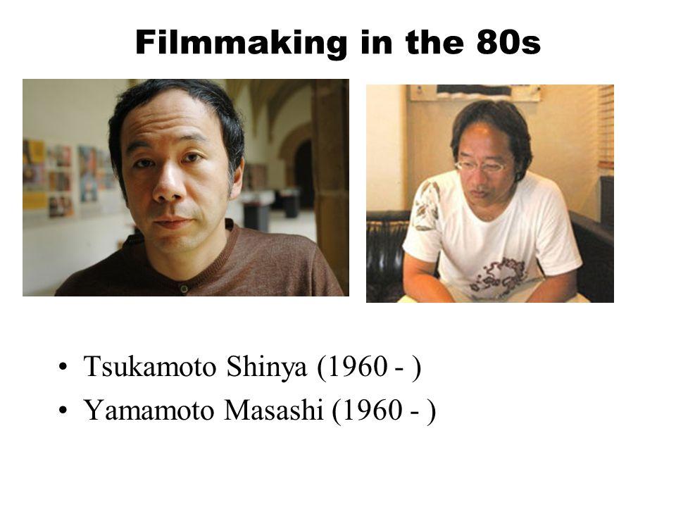 Filmmaking in the 80s TV Commercial director / video clip director Iwai Shunji (1963 - ) Ichikawa Jun (1948 -2009 )