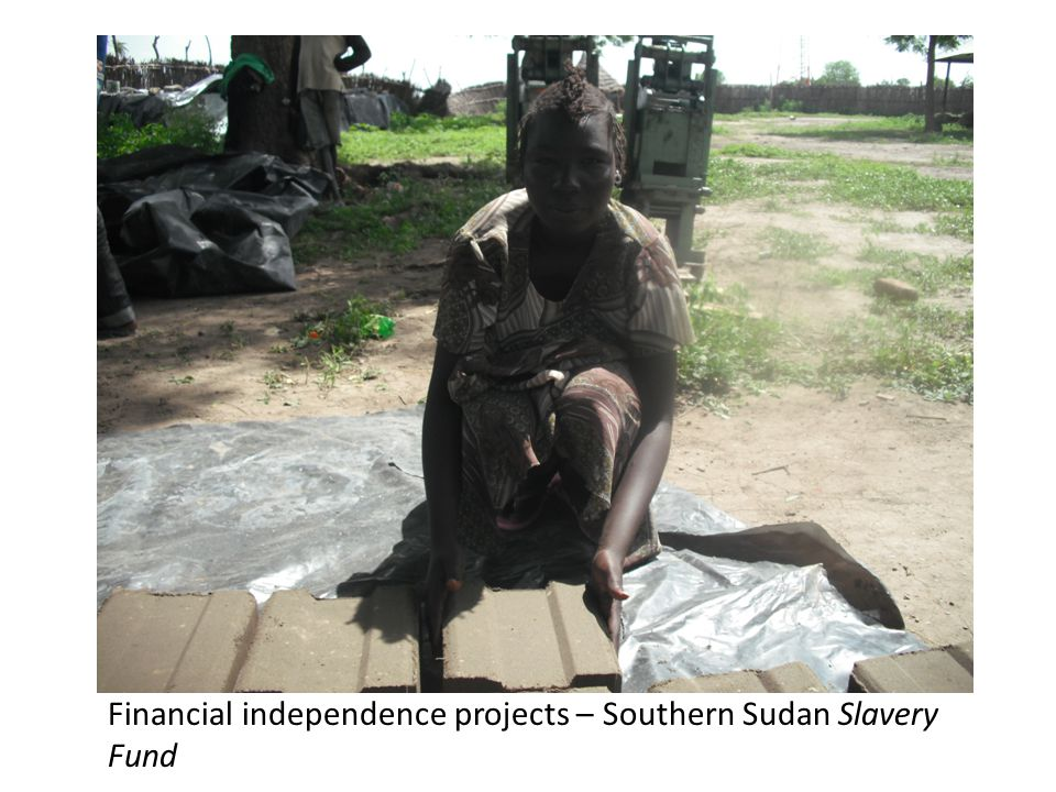 Financial independence projects – Southern Sudan Slavery Fund