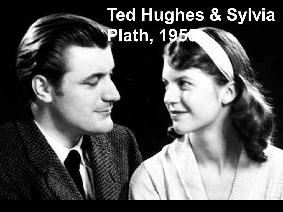 Ted Hughes & Sylvia Plath, 1950s