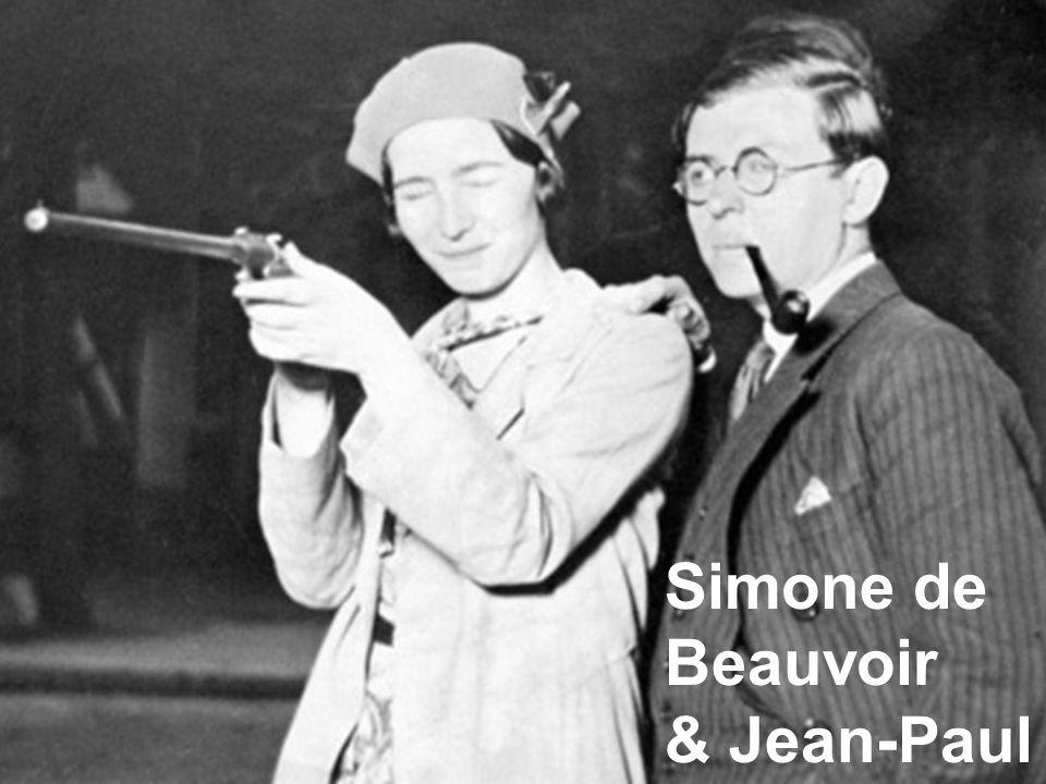 Simone de Beauvoir & Jean-Paul Sartre 1940's