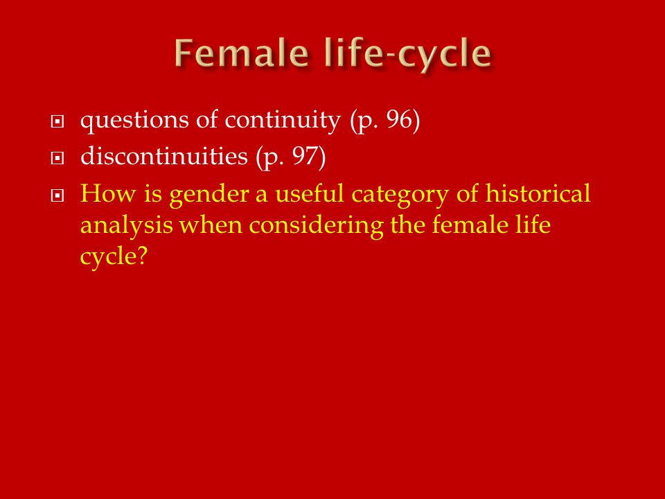  questions of continuity (p. 96)  discontinuities (p.
