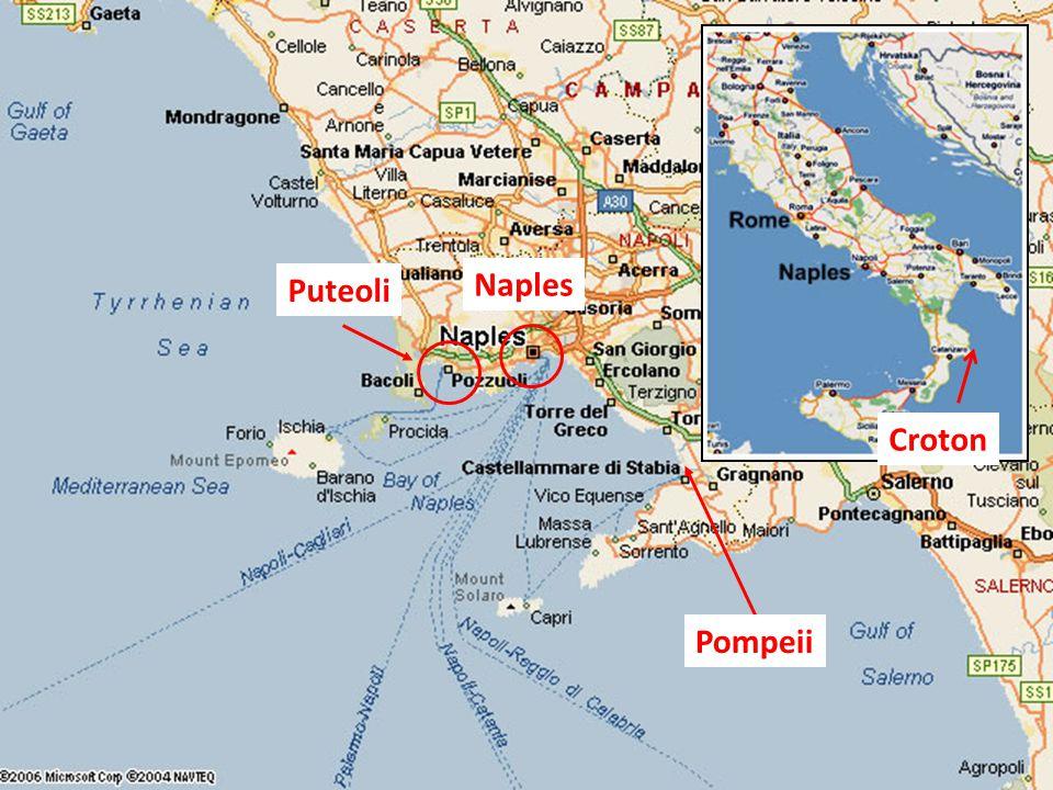 Puteoli Pompeii Naples Croton