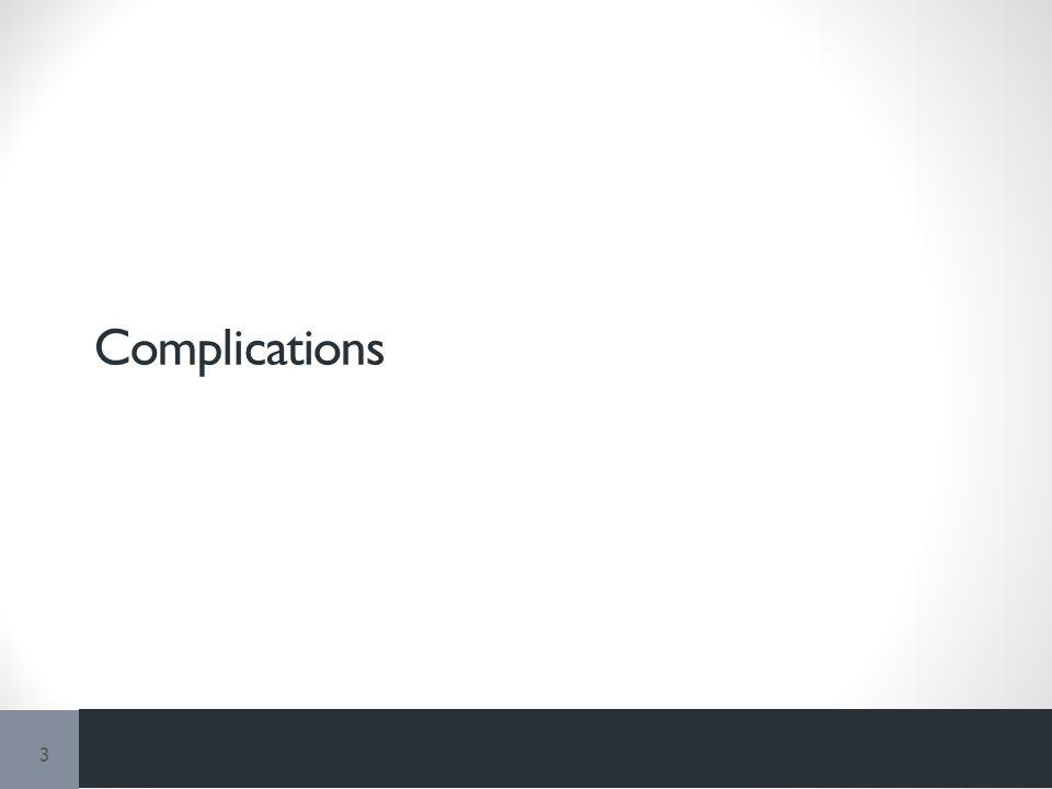 Complications 3
