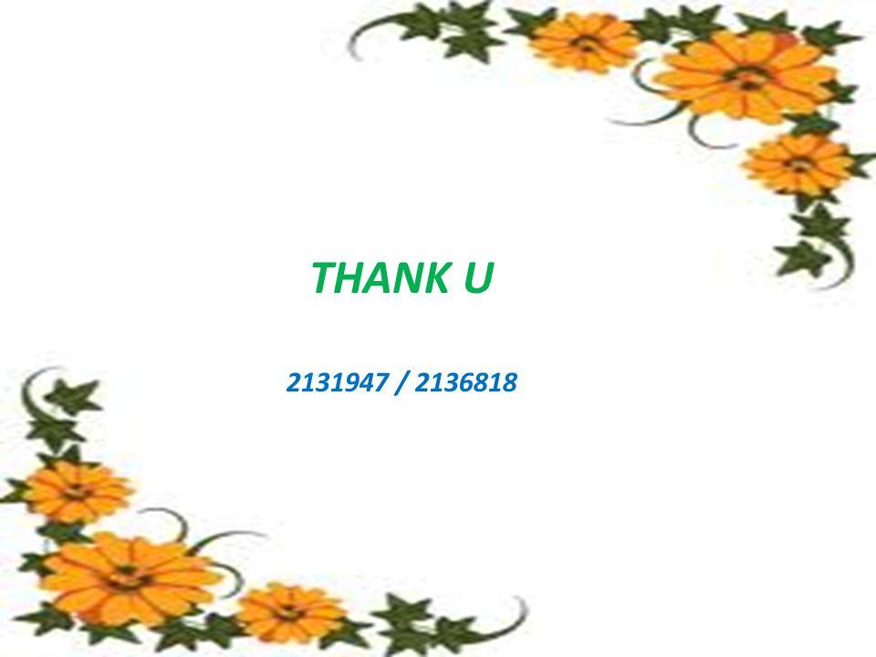 THANK U 2131947 / 2136818