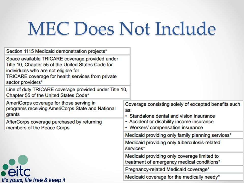 MEC Does Not Include 5