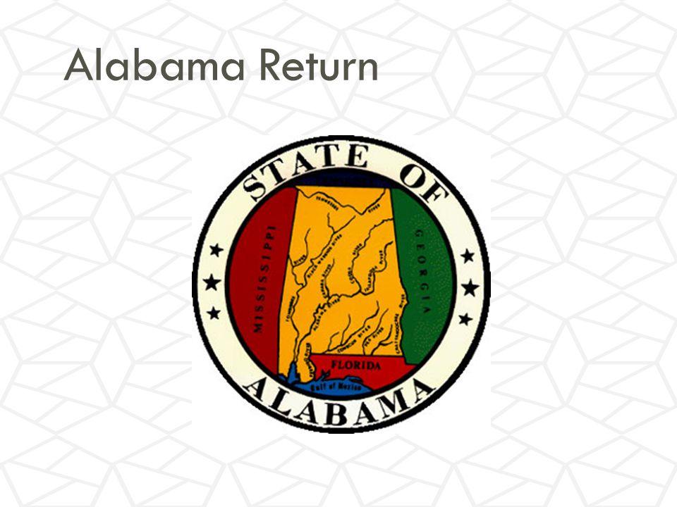 Alabama Return