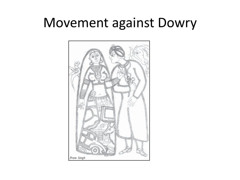 Movement against Dowry