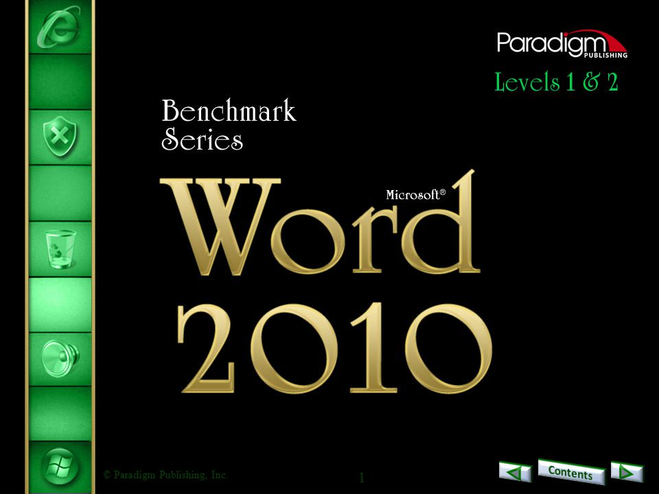 2 Word 2010 Level 2 Unit 1Formatting and Customizing Documents Chapter 1Customizing Paragraphs and Pages