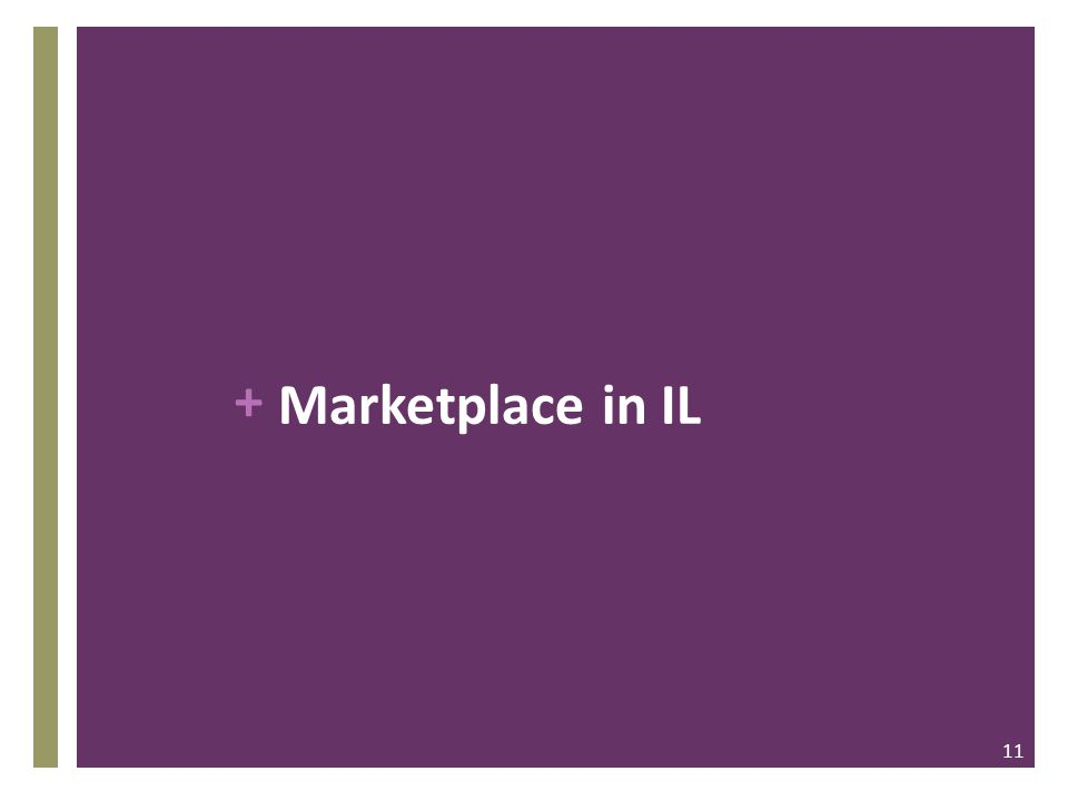 + Marketplace in IL 11