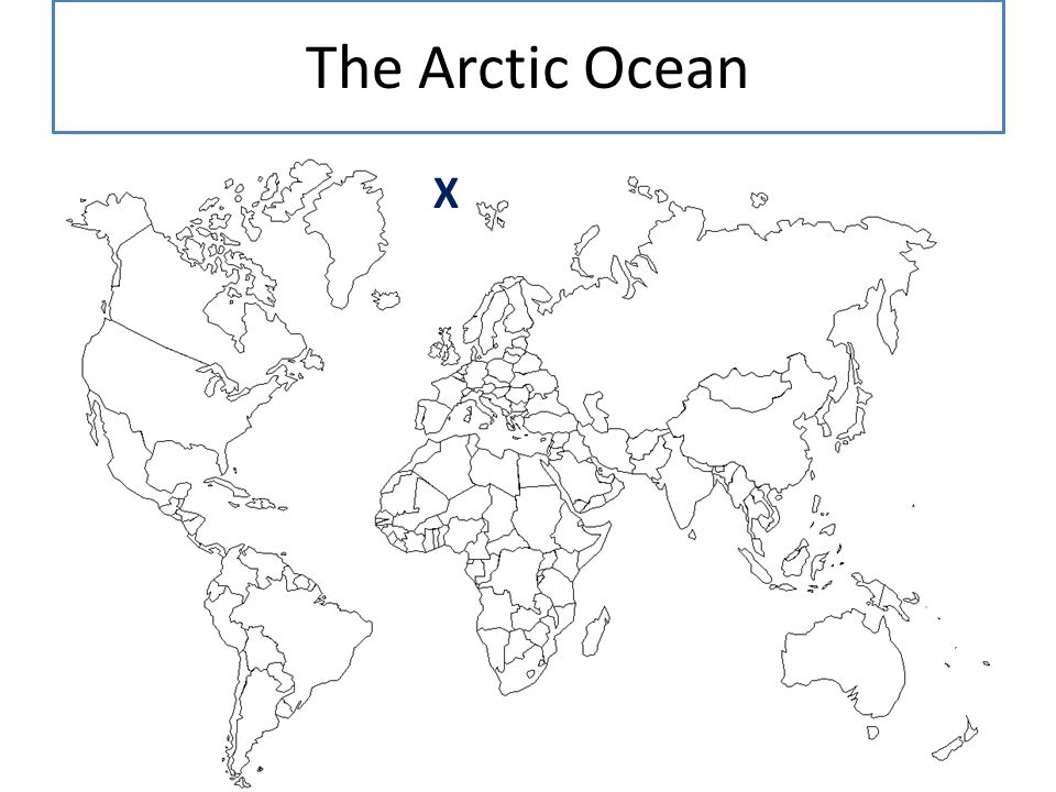 The Arctic Ocean X