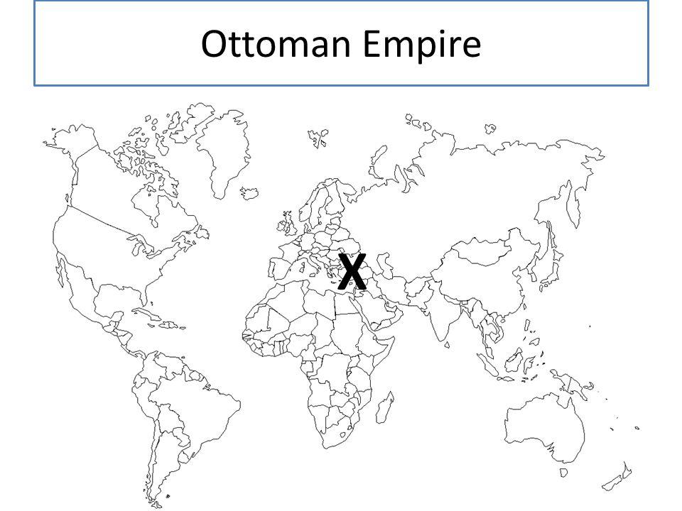 Ottoman Empire X