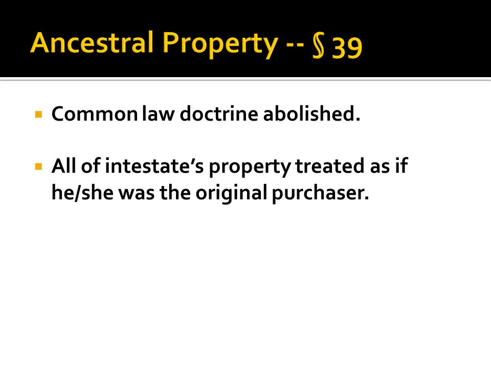 Common law doctrine abolished.