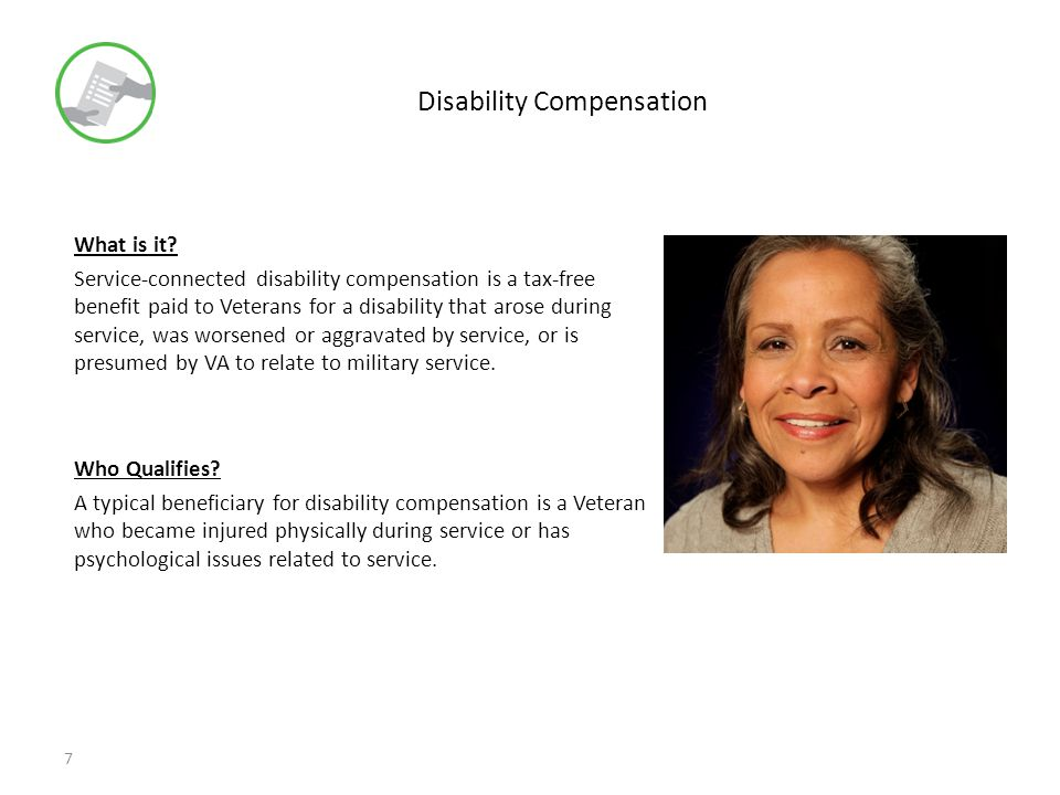 Disability Compensation What is it.