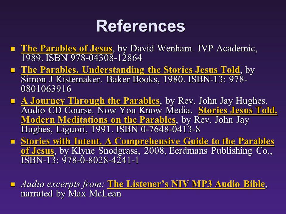 A Lenten Journey Through the Parables A Lenten Journey Through the Parables 2.