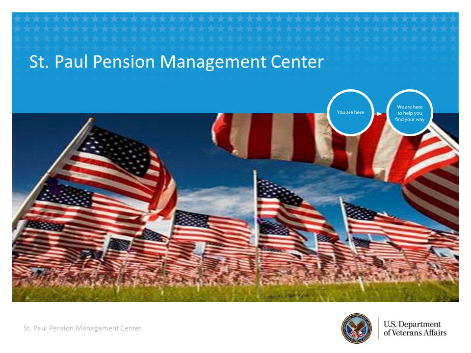 VETERANS BENEFITS ADMINISTRATION 1 PMC Representatives - Andy Lindstrom, Assistant PMC Manager - Kate Martin, Coach
